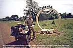 UGANDA_reaching the Equator by BMW-motorcycle R80GS _very, very dangerous ... civil war_winter 1987-88 to Kenya_Jochen A. Hübener
