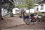 1991_ZAMBIA_unsafe, dangerous border to Mozambique_ escorted by travellers from Denmark (motorbike) and Switzerland (Landrover)_dangerous days together ...