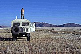 1999_NAMIBIA per Mercedes-UNIMOG_here is Rolf-Otto the tallest_ he wants to show his body to everybody ... but ... unfortunately ... nobody is here ...  _Jochen A. Hübener