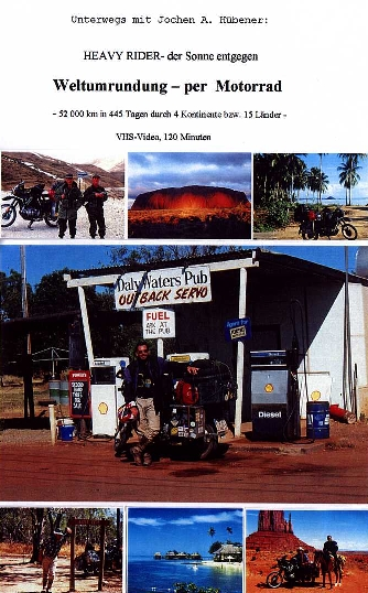 cover of my VIDEO VHS 'around the world by motorcycle'